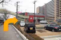 若葉駅からの道のり写真2