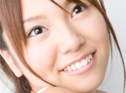 白く輝く歯